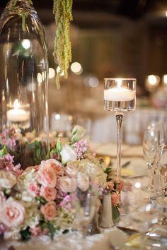 wedding centerpiece idea; photo: Bridgette Marie Photography