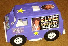 ELVIS PRESLEY TOUR VAN...This was a great van for my Barbies!  Loved it...