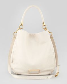 Too Hot to Handle Hobo Bag, Beige by MARC by Marc Jacobs at Bergdorf Goodman.