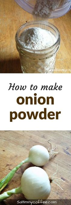 to make onion powder from scratch Here's how to make onion powder from fresh onions! It's so easy, and tastes so much better than store-bought!Here's how to make onion powder from fresh onions! It's so easy, and tastes so much better than store-bought! Homemade Spices, Homemade Seasonings, Canning Recipes, Dehydrated Food Recipes, Dishes Recipes, Smoker Recipes, Rib Recipes, Barbecue Recipes, Barbecue Sauce