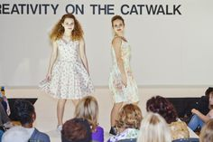 Creativity on the Catwalk fashion show