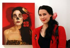 2015 Ruth Tuck Scholarship recipient Ruby Chew. Ruby will use her scholarship to undertake a workshop with alla prima oil painting specialist Casey Baugh in Los Angeles, a mentorship with figurative realist painter Chris Aerfeldt in France and two summer school courses at Central St Martins, London during 2015.