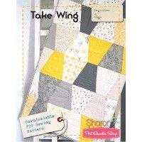 Take Wing Downloadable PDF Quilt PatternSharon Holland Designs
