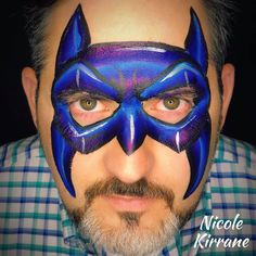 Nicole Kirrane - Batman Face Paint