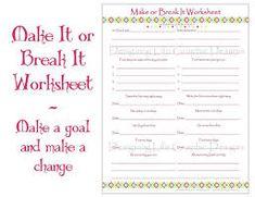 Personal Development Worksheets - FREE