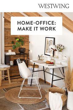 Mit Arbeit verbringen wir jede Menge Zeit. Träumst du davon, an einem aufgeräumten Schreibtisch effektiv und in aller Ruhe arbeiten zu können? Unser Tipp: Feng-Shui. Lass positive Energien zirkulieren — für Balance und Wohlbefinden! Feng Shui ist eine alte chinesische Lebensweisheit, laut welcher das Chi, eine lebenswichtige Energie, uns umgibt. Plane deinen Arbeitsplatz mit Feng Shui./Westwing Schreibtisch Arbeitszimmer nach feng shui einrichten Ideen Home Office Büro Ausrichtung Tipps 2021 Home Office, Make It Work, Dining Table, Design, Furniture, Home Decor, Clear Desk, Workplace, Feel Better