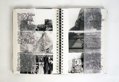 https://flic.kr/p/jDpK6F | Photography Sketchbook | Just a snapshot of my photography sketchbook showing my thought progression and analysis of individual photos i had taken following the theme of Personal Projection. Each photo was taken on 35mm film in black and white and developed using dark room techniques.