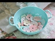 ''Crochet Candy'' TUTORIAL (embellishment) - YouTube