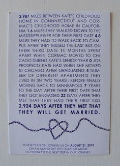 super cute save the date idea! #wedding