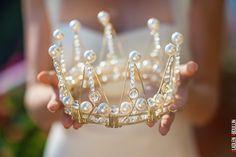 princess pearl crown