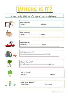 PREPOSITIONS worksheet - Free ESL printable worksheets made by teachers