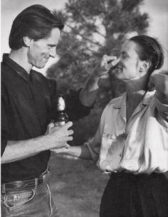 Jessica Lange et Sam Shepard - Photographie de Bruce Weber, 1984