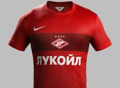 Totally New Nike Spartak Moscow 14-15 Kits Released