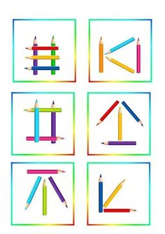Preschool Printables, Preschool Crafts, Learning Colors, Kids Learning, Pre Primary School, Teacher Cartoon, Picture Composition, Busy Boxes, Coding For Kids