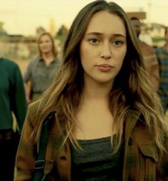 (Alycia Debnam Carey) Letty Rodriguez, is a werewolf a purebred one at that (Damon's Pack.) She's tough and outspoken. Letty has slight anger problems, which she's working to handle. She works as part of the fire department.