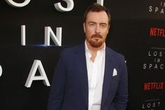 Toby Stephens says he is definitely British despite having spent lots of time working in America. Toby Stephens, Upcoming Series, Social Projects, Black Sails, Lost In Space, I Love Him, Definitions, Beautiful Men, Suit Jacket
