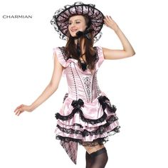 Charmian Halloween Costume for Women Southern Belle Victorian Dress Party Halloween Costume Fantasias Feminina Para Festa