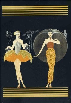 Morning Day			-Erte - by style - Art Deco