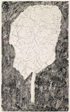 Jean Dubuffet, Tree, (c. June) 1955