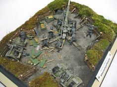 Photo 2 - Fire from the height   Dioramas and Vignettes   Gallery on Diorama.ru