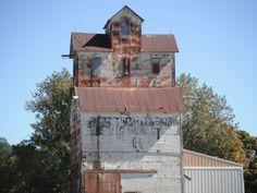old grain bin