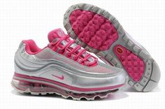 sports shoes 883b9 5ea05 Nike Air Max 24 7 Silver Pink Womens ShoesAir Max Womenssale on