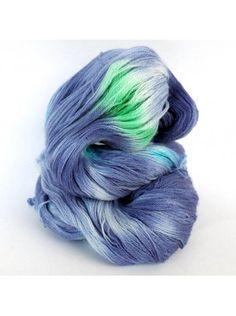 Purple Rain - 80% Extra Fine Merino 20% Silk - Lace weight