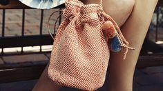 Proud Mary Small Diamante Bucket Bag via OpenSky. $35.00