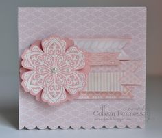 Mixed bunch in Blushing Bride by Colleen Fennessey