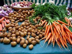 Raspail Organic Market, Paris.