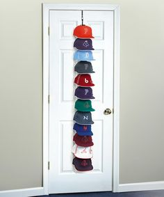 Large Over-the-Door Hanging Hat Rack #zulily #zulilyfinds