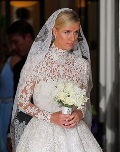 Nicky Hilton stunned in her Valentino Wedding Dress