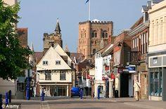 St Albans, UK  Kelseys Home!  Check!