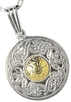 Sterling Silver Celtic Warrior Pendant with Gold Bead Celtic Warriors, Gold Beads, Bridal Jewelry, 18k Gold, Sterling Silver, Pendant, Bridal Bridal Jewellery, Hang Tags, Pendants