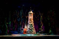 into the woods scenic design - Google Search