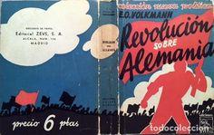 Volkmann: Revolución sobre Alemania. (cubierta de Mauricio Amster) Alemania, años 30. Nazismo - Foto 1