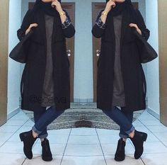 hijab//I need the black coat!