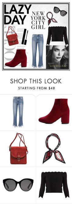 """""""Lazy Day"""" by muradija-hamzagic ❤ liked on Polyvore featuring Frame, Henri Bendel, Gucci, Alexander McQueen, like, LazyDay and trousers"""