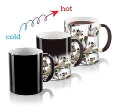 11 oz. Heat Sensitive Mug - Tiled   Custom Personalized Mugs   Walgreens Photo  SO COOL. CHRISTMAS GIFTS?!