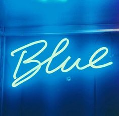 blue, neon, and light resmi