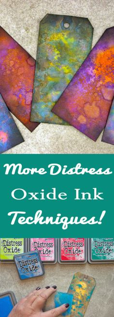 Distress oxide technique