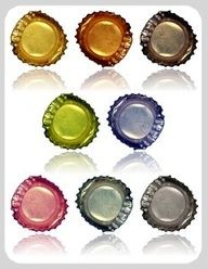 To read later maybe some good for kid rooms -sh 80 Awesome Upcycling Ideas for Your Dorm Room Decor Bottle Cap Projects, Bottle Cap Crafts, Bottle Cap Art, Bottle Top, Beer Bottle, Fun Crafts, Crafts For Kids, Arts And Crafts, Recycle Crafts