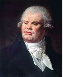 """According to a biographer, """"Georges Danton's height was colossal, his make athletic, his features strongly marked, coarse, and displeasing; his voice shook the domes of the halls.""""  His last words, to his executioner, """"Show my head to the people, it is worth seeing."""""""