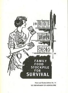 Food stockpile guide, 1972