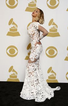 Beyonce arrives to the 56th Annual GRAMMY Awards at STAPLES Center, L.A. LIVE