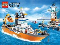 Lego City Coast Guard Poster