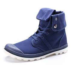 New Fashion Men Casual High Top Canvas Shoes Outdoor Lace-up Sport Sneakers Shoes Worldwide delivery. Original best quality product for 70% of it's real price. Hurry up, buying it is extra profitable, because we have good production sources. 1 day products dispatch from warehouse. Fast...