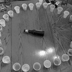 Juego de ruleta para beber en una despedida de soltera. #hens #night #game