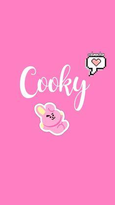 ll ♡ ll Cooky Pop Art Wallpaper, Name Wallpaper, Bts Wallpaper, Bts Boys, Bts Bangtan Boy, Bts Jungkook, Jin, Bts Name, Bts Billboard
