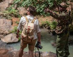 Thank you to one of our brand ambassadors Niels Van Gijn, for this great image with our Border Rucksack in Kenya! Made in England by Chapman Bags Mens Luggage, Kenya Africa, Men's Backpacks, Us Border, Messenger Bag Men, Men's Bags, Brand Ambassador, Baggage, Bradley Mountain